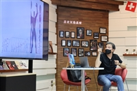 「世界閱讀日沙龍講座」建築系副教授賴怡成主講「從狄倫馬特中心談瑞士建築」