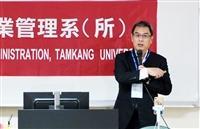 台泥總經理李鐘培演講落實循環經濟