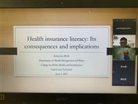 分析美國健保制度 劉易矗從公衛角度切入論點