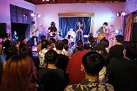 音樂文化社5/7(四)晚間7:00舉辦搖滾吧飛啦!現場邀請「愛人眼睛、Control T、綠繡眼、後站人」等樂團演出。
