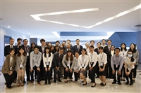 5月29日,歐盟經貿辦事處處長高哲夫、臺灣歐盟中心主任蘇宏達來校