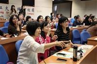 「教學創新獎勵成果:樂趣化教學融入體育課程經驗分享」由學動組郭馥滋分享