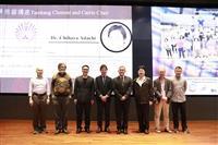 化學系邀請九州大學安達千波矢教授熊貓講座