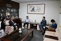 香港經濟貿易文化事務處拜訪葛校長