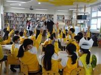 謝旻琪兒童文學室赴文化國小說故事