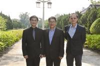 資工系熊貓講座講者:教授林復華於3/26拜會葛校長、董事長