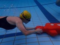水上救生社 深海池訓練