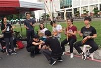 卡波耶拉社到台大杜鵑花節擺攤表演