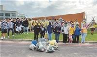 淡江學園攜崇德社 沙崙淨灘重現美麗生態