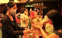 女聯會舉辦演講活動,主題「 東瀛的瓊漿玉液 」,主講者日文系教授彭春陽