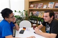 國際處開放「Chat Corner」提供同學