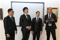 文錙藝術中心「世紀紅顏傳奇-2019押花大展」開幕式
