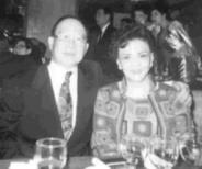 創辦人伉儷留影。其夫人為本校董事長張姜文錙女士。攝影�馮文星