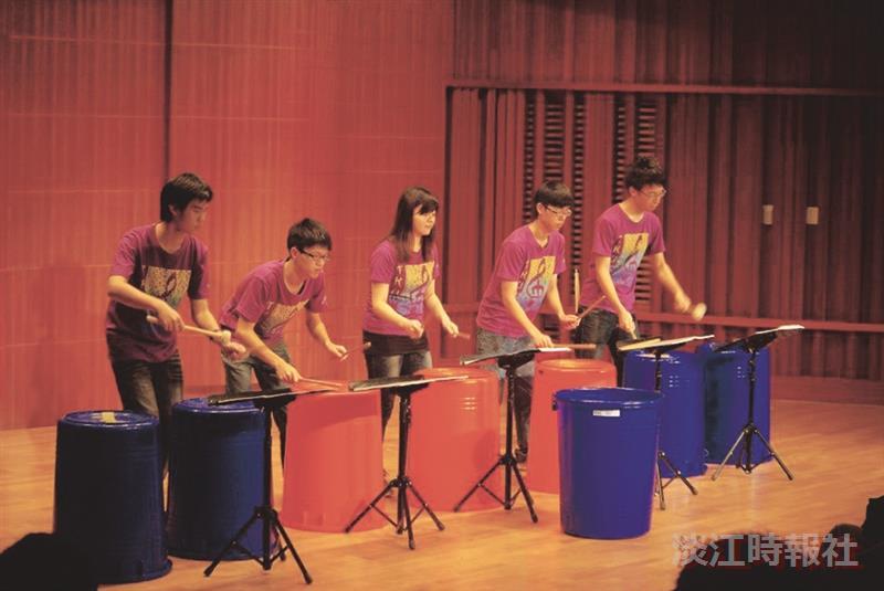 管樂社期中音樂會,創意表演讓令人驚豔。(圖/管樂社提供)