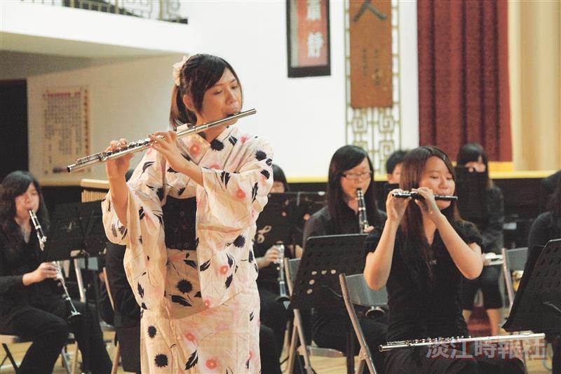 管樂、弦樂期末愛管弦事  掌聲中落幕