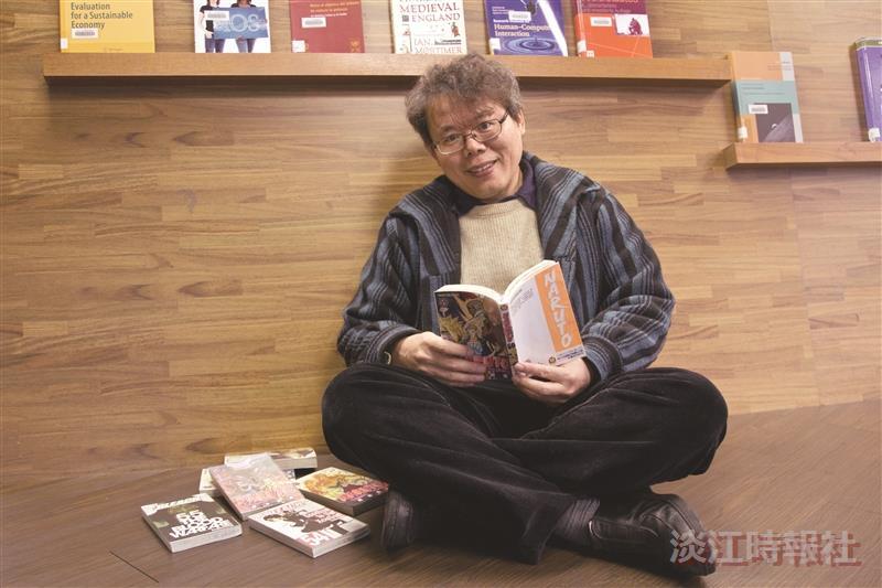 校園話題人物>英文系系主任蔡振興 英文頑童 動漫英語教學 有趣!