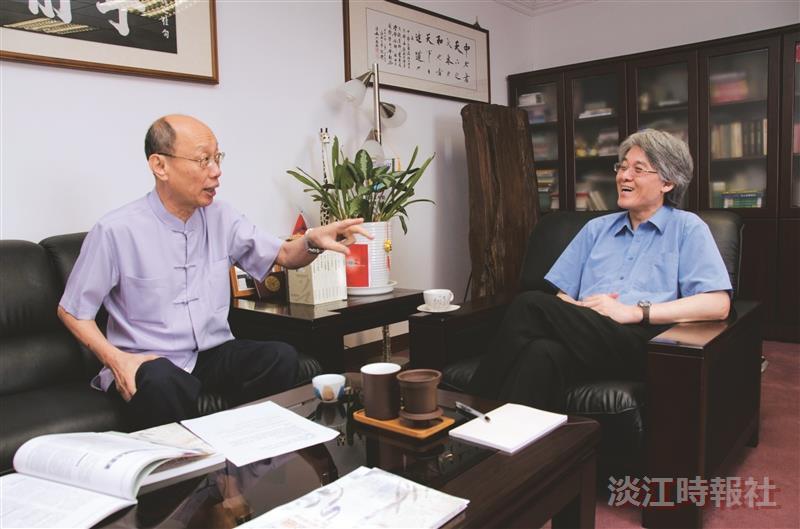 行政副校長高柏園  醒吾技術學院講座教授陳泊世