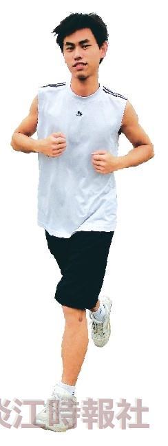【校園健康人物】路跑向前衝 陳棠笙
