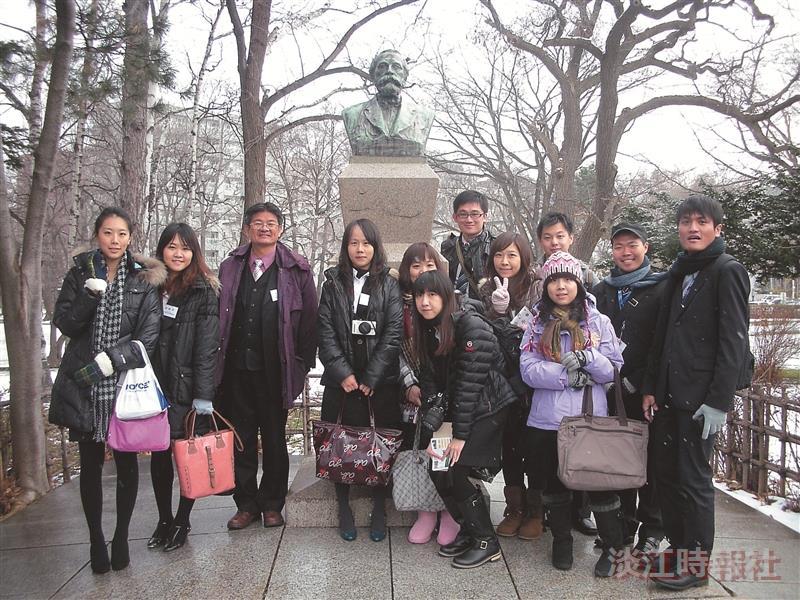 胡慶山帶台生團赴日交流
