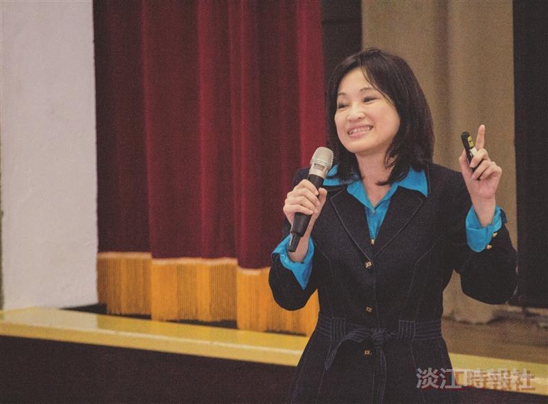 第七屆淡江品質獎學務處 學務長柯志恩獲獎經驗分享