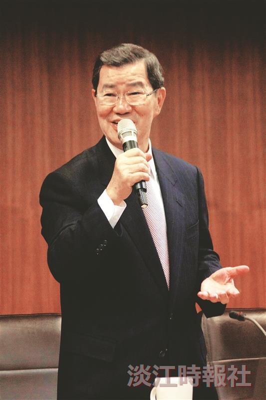 蕭萬長談兩岸經貿發展