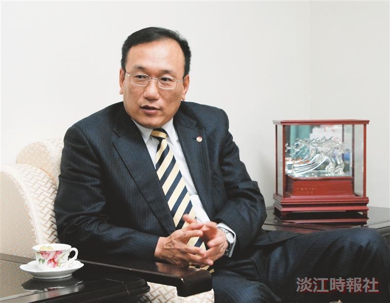 校友劉德立出任外交部常務次長