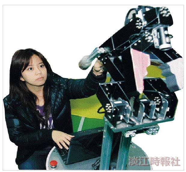 楊玉婷抱黃金夢  擁海賊王般團隊使機器人揚名國際