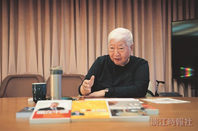 南僑關係企業會會長陳飛龍 謀定後動 老字號創新價值