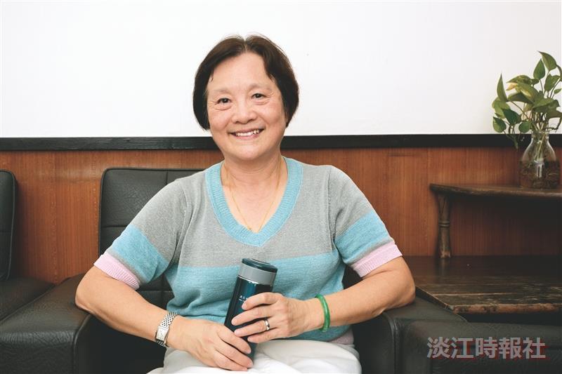 【教師節特刊】中文系教母 引領學子穿越古今 中文系專任副教授 倪台瑛