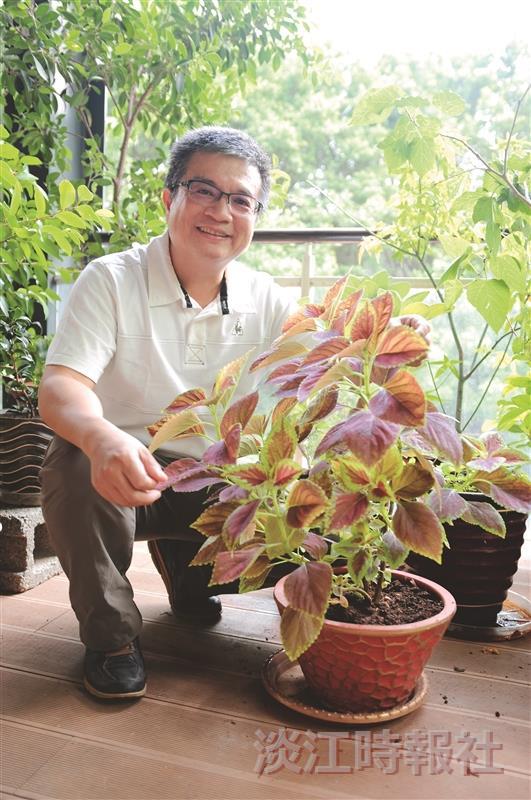 未來學所所長陳國華 植物聖手化作教育園丁