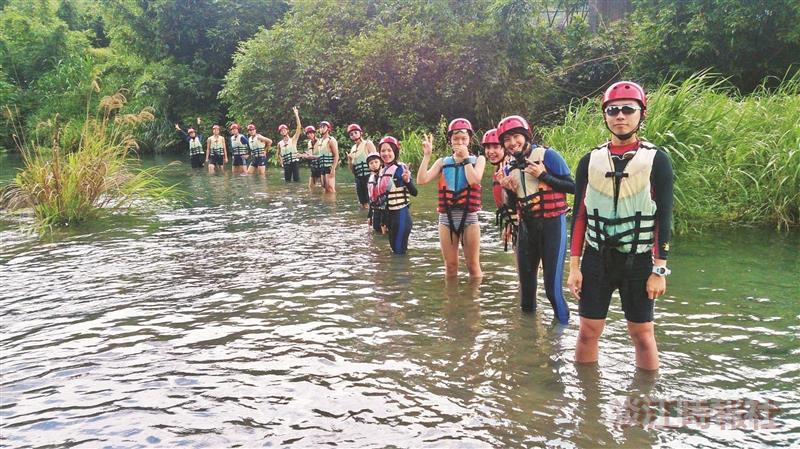 水上救生社溪海訓演練