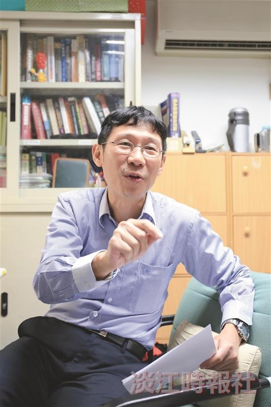 【淡江學術圈】顧廣平 為投資人拓投資策略新選擇 鑽研行為財務學