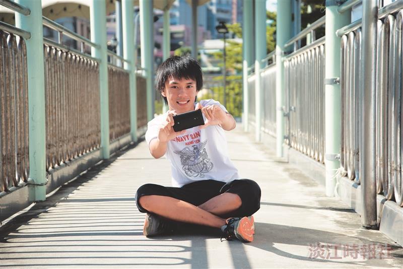 【校園話題人物】運管四蔡承羲 瘋參賽 短片得獎王