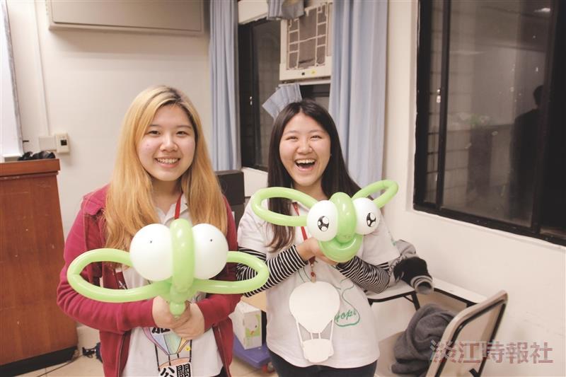 活化社課課輔社氣球創意變身