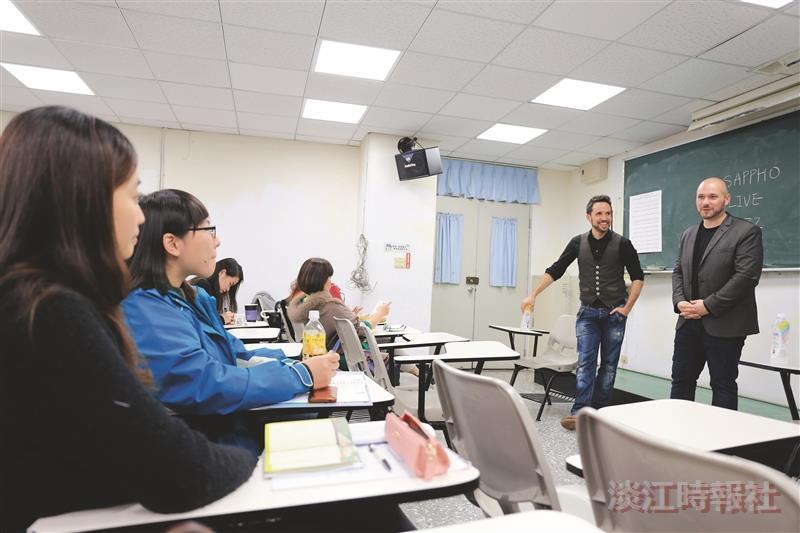 音樂家入課 推廣全球法語日