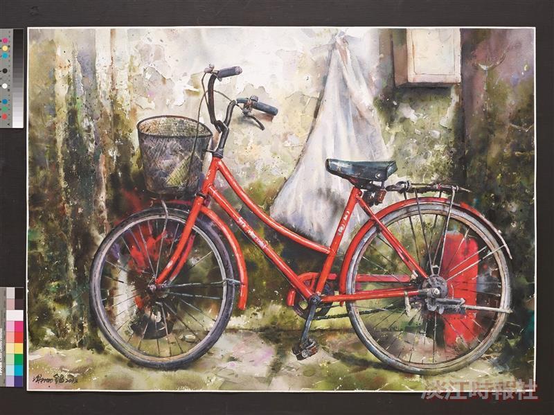 【文錙藝廊】紅色快樂腳踏車