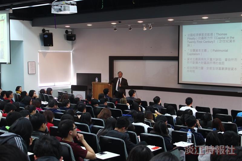 世界經濟趨勢與台灣的機會