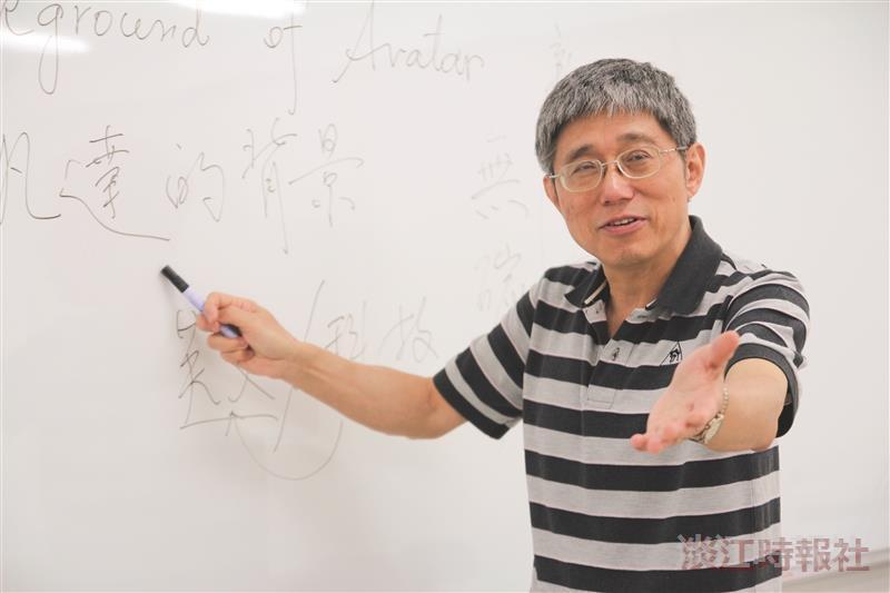 英文系校友陳萬來 感念母校教導英語課輔