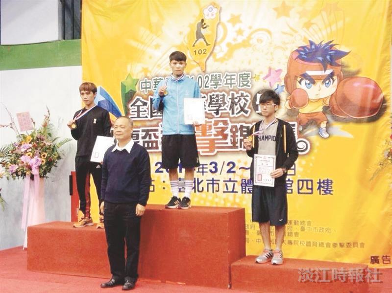自由搏擊社獲大專盃拳擊賽3銅牌