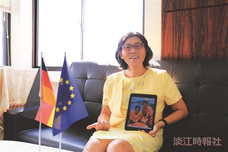 歐研所教授陳麗娟 媽媽教授溫暖學子心