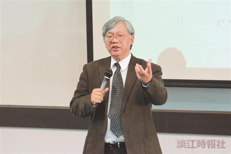 台灣經濟研究院院長林建甫 提防金融黑天鵝 智慧型產業創臺灣贏面