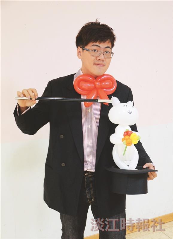 土木四盧偉嘉 氣球魔術 變化眨眼間