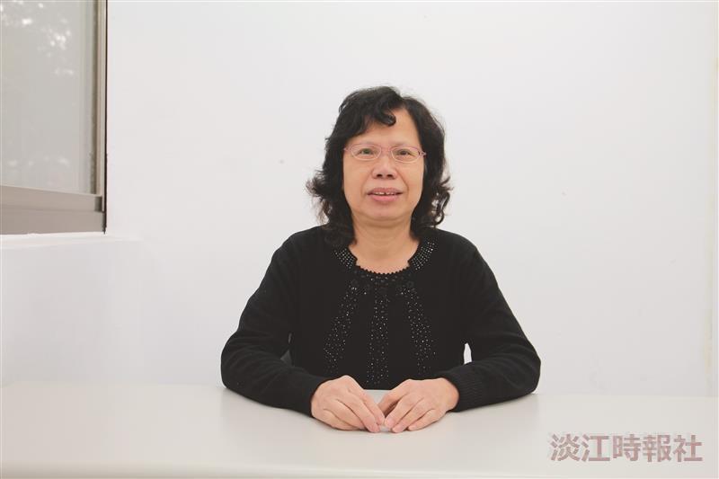 教務處課務組組長蔡貞珠注重服務 傾聽師生反映