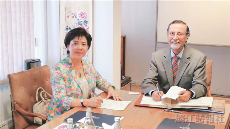 張校長率團與智利大學(續)、亞松森大學締盟