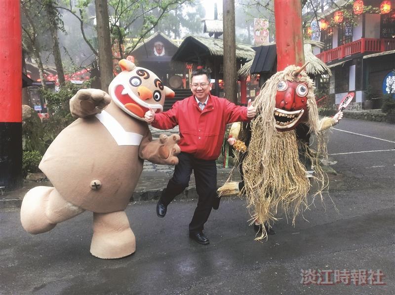 妖怪村主題飯店總經理林志穎 重塑老溪頭 親子遊客絡繹