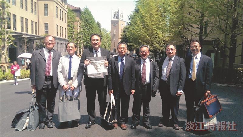 國際學院赴日研討東亞安全