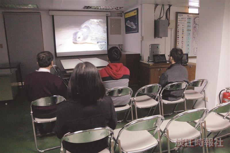 海博館本學期播放海洋文化影片