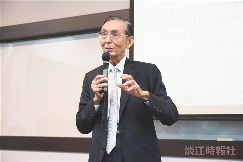 永豐銀董事長邱正雄籲 發揮創新創業精神