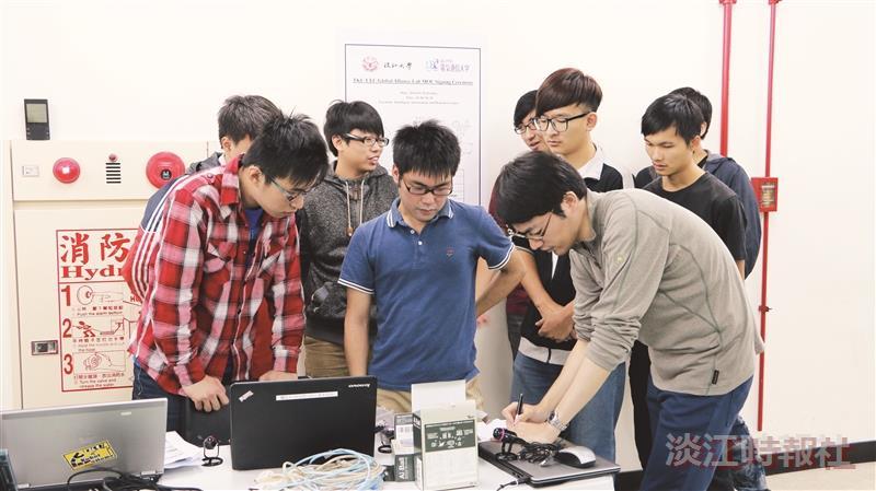 機器人中心與日電通大簽署合作