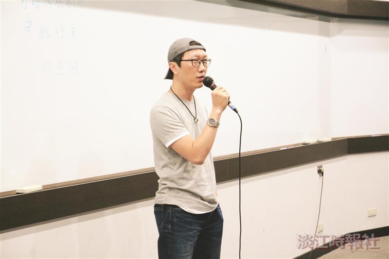 網路作家藤井樹六弄咖啡館 淡江開講